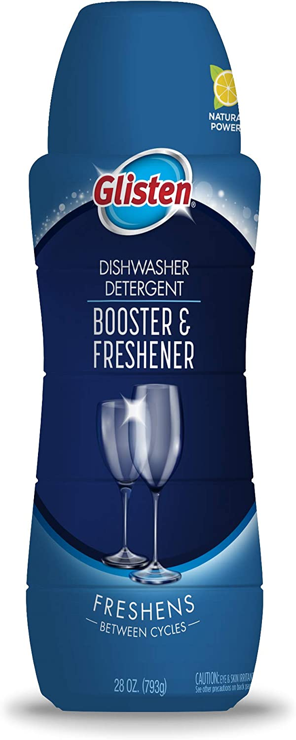 Glisten Detergent Booster + Freshener, 28 Oz. Bottle, 1 Pack