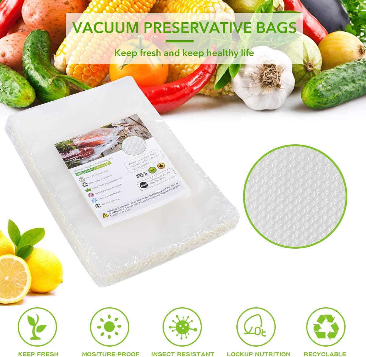 Amazon coupon code for Vacuum Sealer Bags