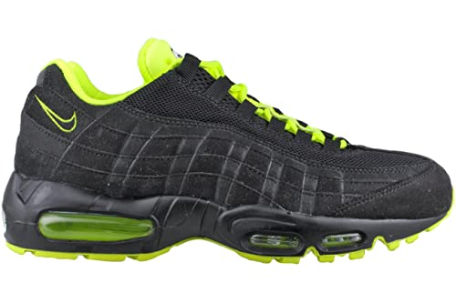 Mens Winter Nike Air Max 95 Running Shoes Black white