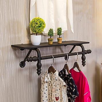 LXSnail Tienda de ropa Racks de exhibición Racks Decoración ...