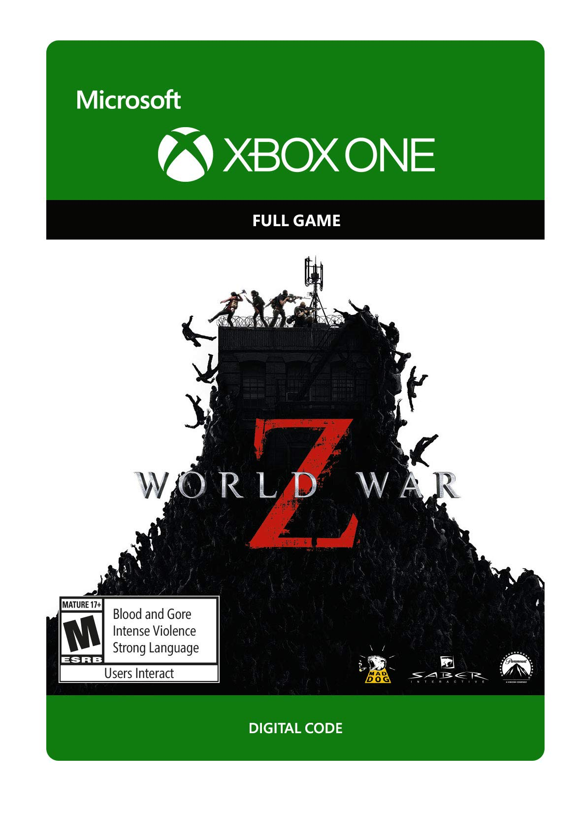 World War Z - Xbox One [Digital Code]
