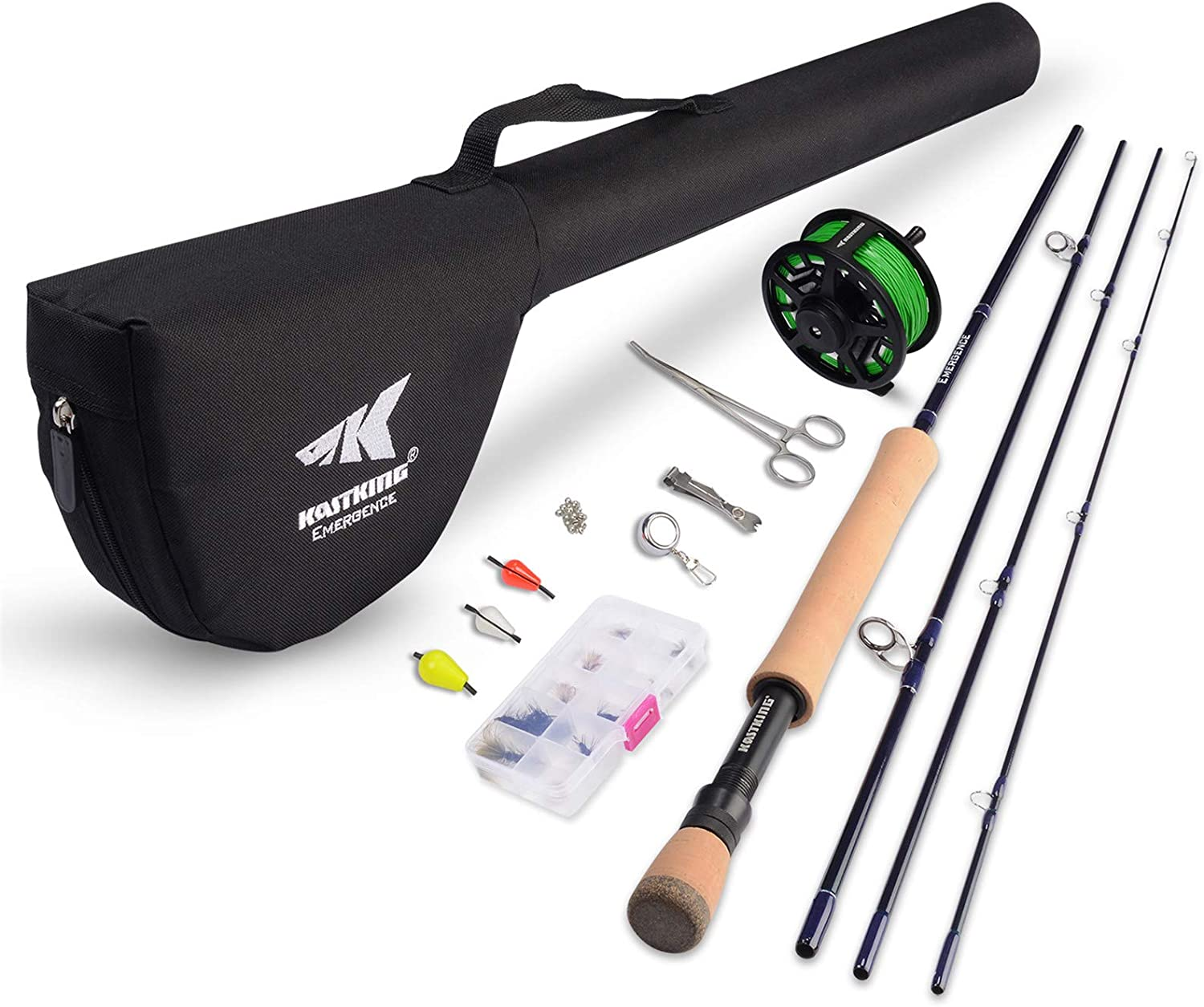 best saltwater fly rods: KastKing Emergence Fly Fishing Combo