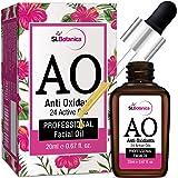 StBotanica Anti Oxidant (24 Active Oils) Professional Facial Oil - 20ml - Facial Glow, AntiAging with Retinol, Argan, Rosehip & Other Oils
