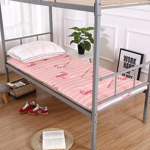 HAOLY Japonés Espesar futón Tatami cojín colchón,Estera de meditación,Cojín de colchón,-Antideslizante para Dormir Almohada Plegable colchón-K ...