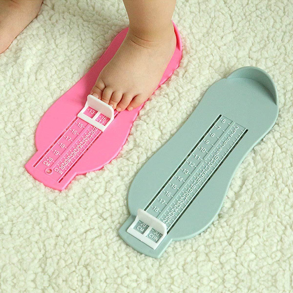 Uteruik Kit de Mesure de Pied Professionnel pour Enfant Taille de Chaussure Outil de Mesure pr/écis pour 0-8 Ans #1