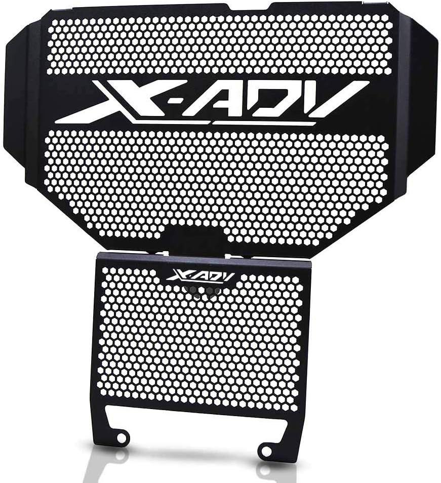 XADV 750 Motocicleta Cubierta de la Rejilla del Radiador & Protector de Kit de Aceite para Honda X-ADV X ADV 750 2017 2018 2019-Negro