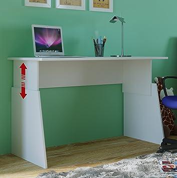 VCM Höhenverstellbar Schreibtisch Computertisch Arbeitstisch ...