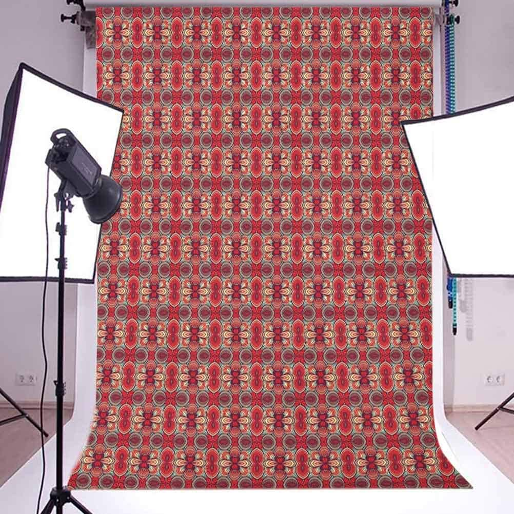 7x10 FT Vinyl Photography Background Backdrops,Sweet Taste of Summer Theme Chocolate and Fruity Flavor Cherries Circle Sprinkles Background for Photo Backdrop Studio Props Photo Backdrop Wall