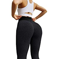 Sexy Shark Scales High Waist Leggings,Women Butt Lift Yoga Pants Scrunch Push Up Leggings Sports Sexy Fitness Trousers…