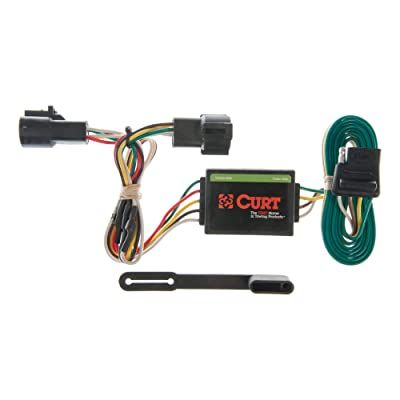 CURT 55325 Vehicle-Side Custom 4-Pin Trailer Wiring Harness for Select Ford Ranger, Mazda B2300, B3000, B4000: Automotive