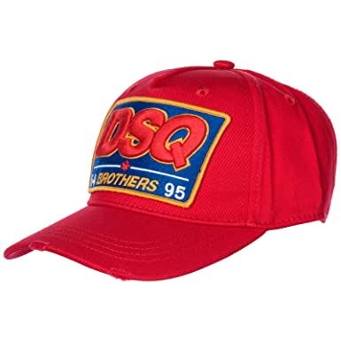DSQUARED2 Hombre dsq Brothers Gorras Rosso: Amazon.es: Ropa y ...
