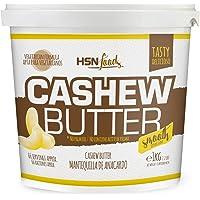 Mantequilla de Anacardo de HSN   Crema con Textura Cremosa y Suave   Cashew Butter Smooth   100% Natural   Vegano, Sin…