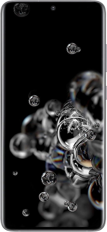 هاتف سامسونج اس20 الترا بسعة 128 جيجابايت -رمادي