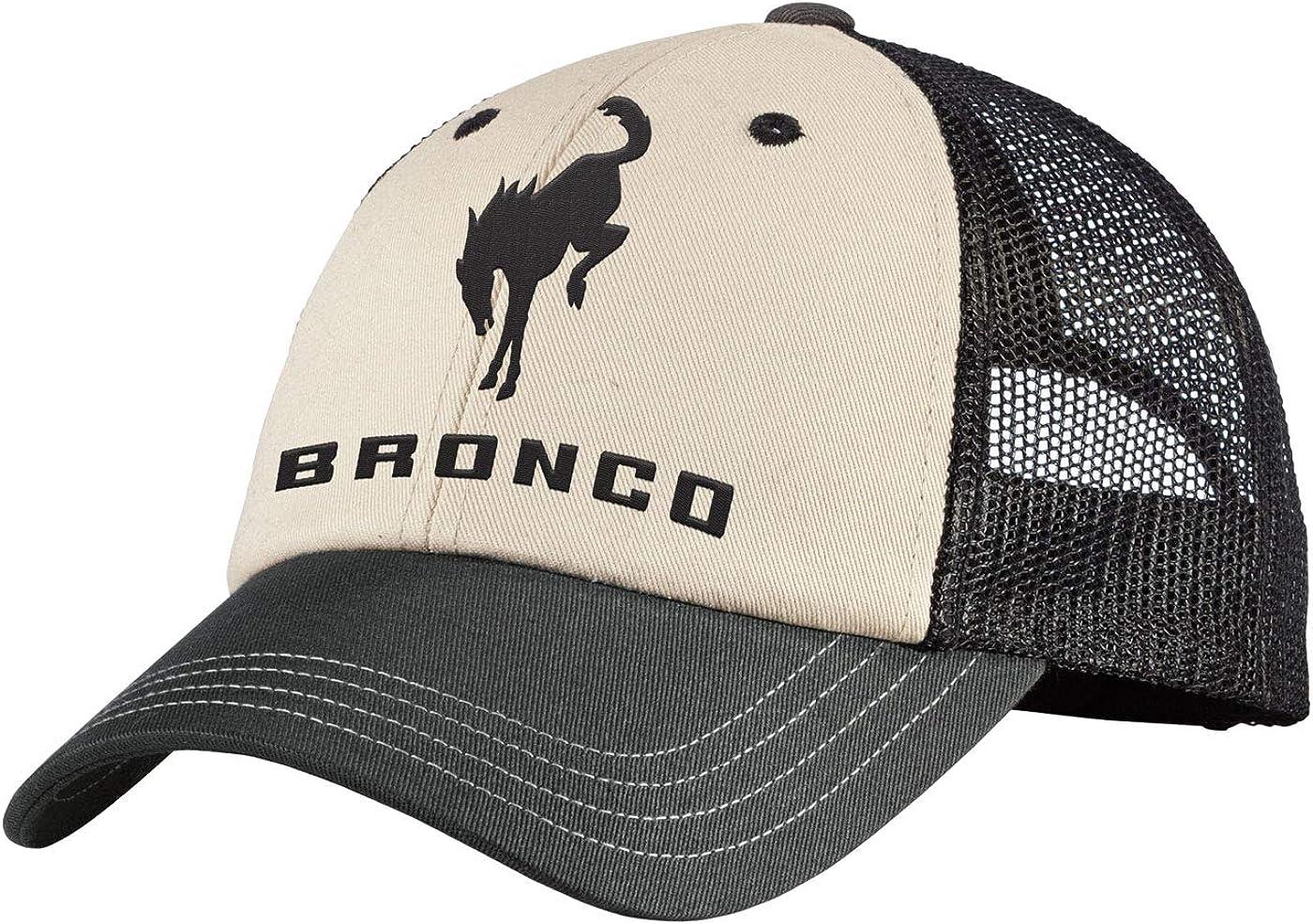Ford Bronco Tri-Tone Mesh Back Cap
