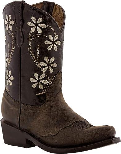 Dark Brown Cowgirl Boots Cheap