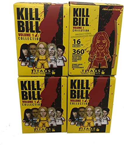 Titans Kill Bill Volume The Bride Chase Collection 3/'/' Vinyl action Figures toy