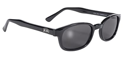 ee5e72afd7c0d Image Unavailable. Image not available for. Color  Pacific Coast Original  KD s Biker Sunglasses (Black Frame Smoke Lens)