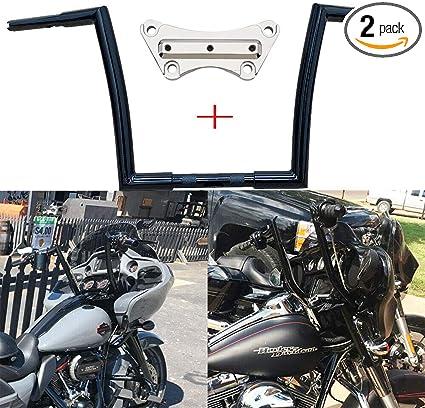 """12"""" Harley Black Ape Hangers for 2015 2016 2017 2018 Road Glide FLTR"""