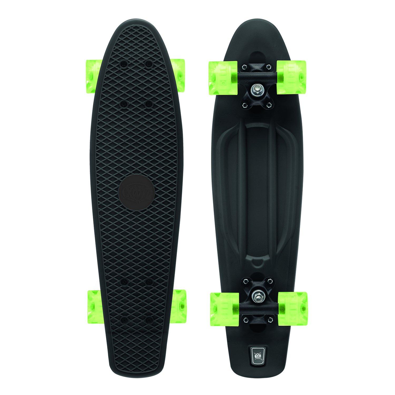 Xootz Kid s Skateboard con luz LED las ruedas diseño retro Infantil