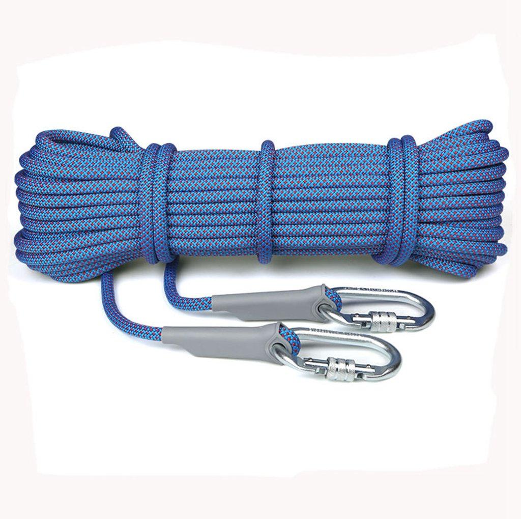 Kletterseil, dometool 10,5mm Durchmesser 25kn Abseilen Seil Outdoor Ausflüge Zubehör Hohe Widerstandsfähigkeit Seil