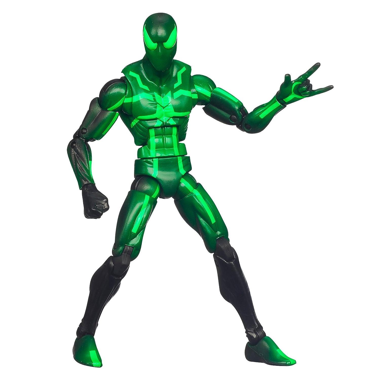 figurine spiderman vert. Black Bedroom Furniture Sets. Home Design Ideas