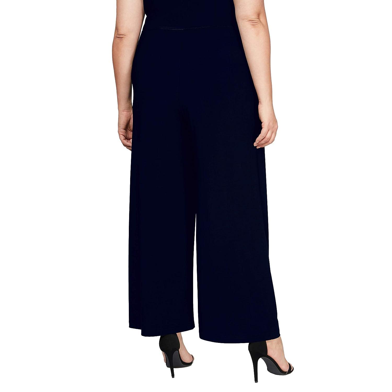 Alex Evenings Womens Plus Size Dress Pants