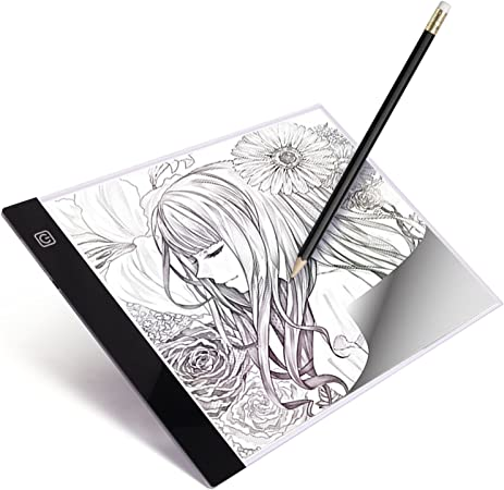 A4 Ultra-thin Portable LED Light Box Tracer Artcraft Tracing Board for Drawing