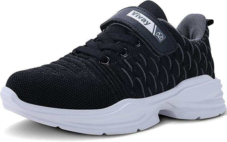 Kid Girl Casual Sneaker Athletic Tennis Shoes Walking Running Lace-Up Ankle Shoe