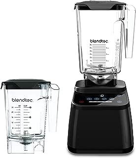 product image for Blendtec Designer 625 Blender - WildSide+ Jar (90 oz) and Mini WildSide+ Jar (46 oz) BUNDLE - Professional-Grade Power - 4 Pre-Programmed Cycles - 6-Speeds - Sleek and Slim - Black