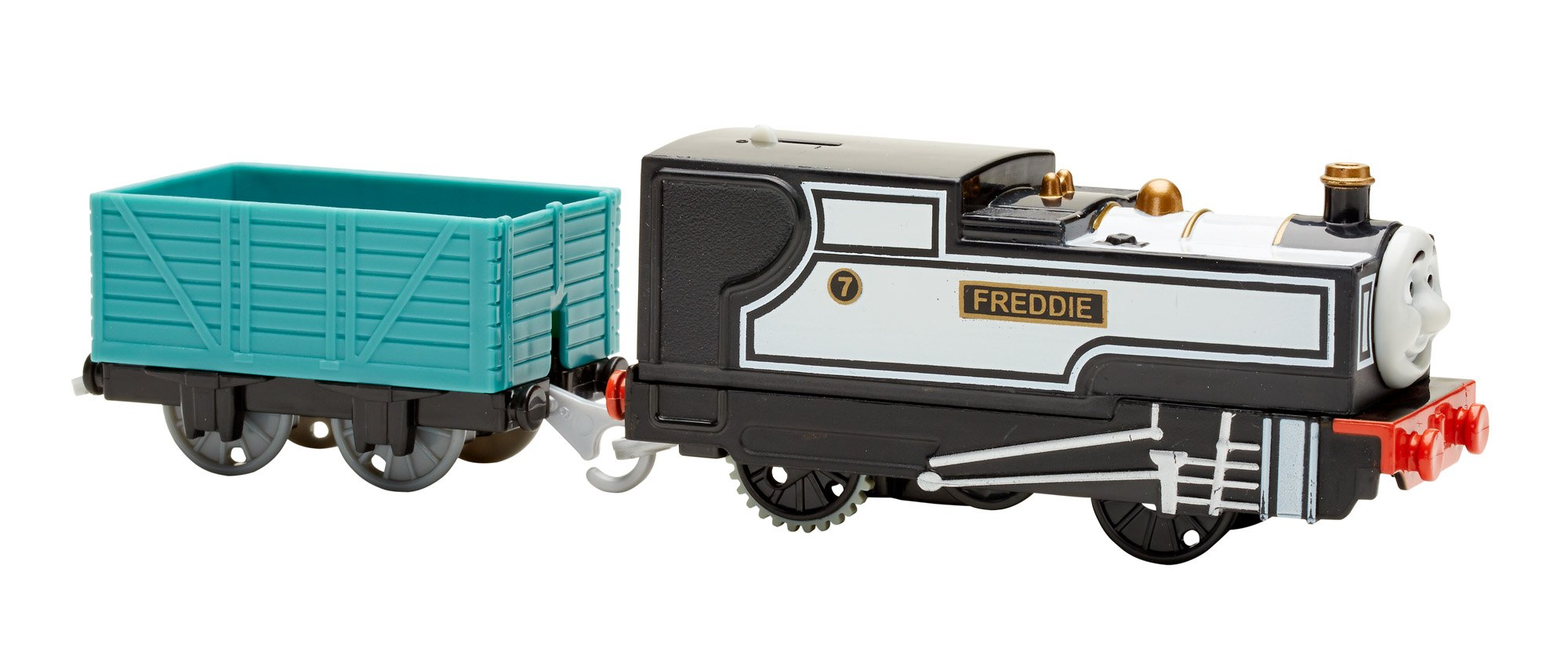 Thomas & Friends Fisher-Price TrackMaster, Motorized Fearless Freddie Engine