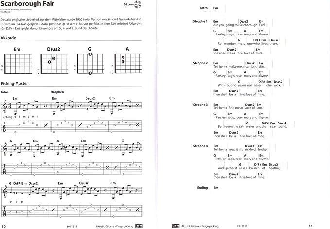 Guitarra Acústica dedos Picking – Rápido y fácil de aprendizaje ...