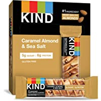 12-Pack KIND Caramel Almond and Sea Salt Nuts and Spices Bar (1.4 oz Each)