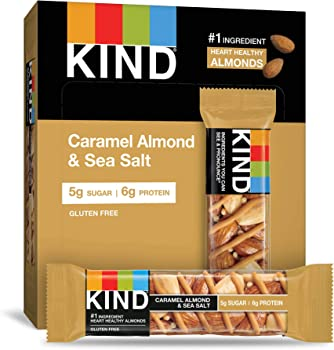 12-Pack KIND Caramel Almond and Sea Salt Nuts and Spices Bar