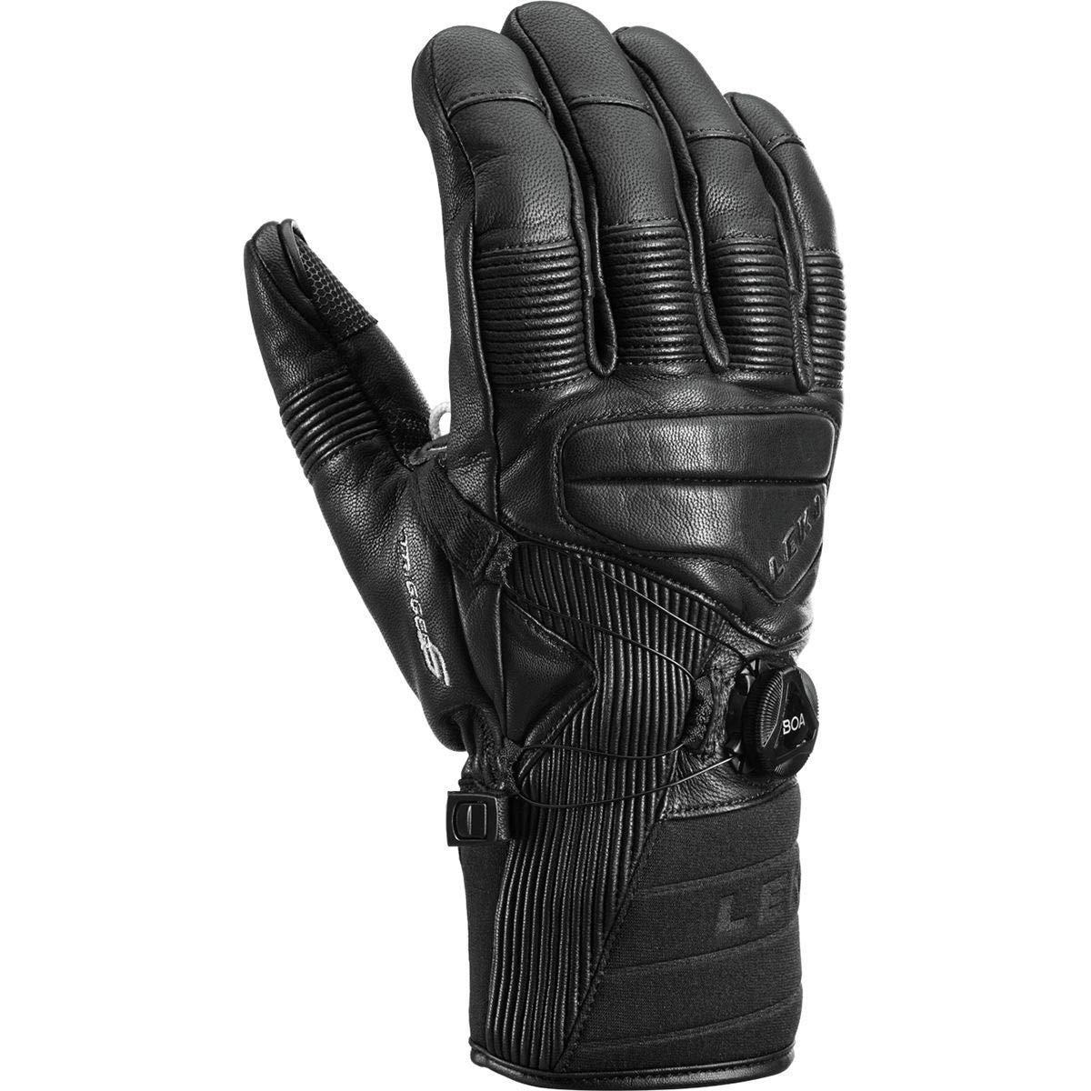 LEKI Progressive Tune Leather Boa MF Touch Glove - Men's