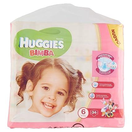 Huggies - Bimba - Pañales - Talla 6 (15 - 30 kg) - 34