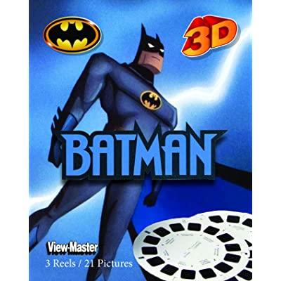 ViewMaster Batman - The Animated Series - 3 Reels on Card - New: Toys & Games