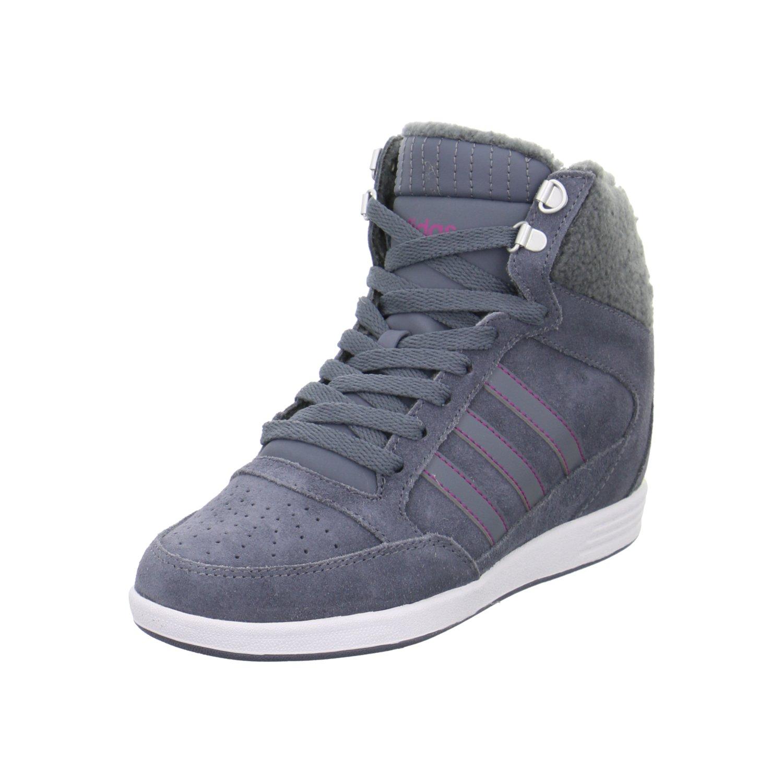 reputable site ef1b6 91116 Adidas WEDGE SNEAKER SUPER GREY AW4854 40 2 3 Grey  Amazon.ca  Shoes    Handbags