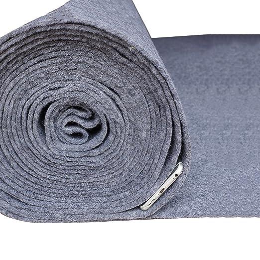 Amazon.com: QIANDA Wedding Carpet Gray Aisle Rugs Roll Non ...