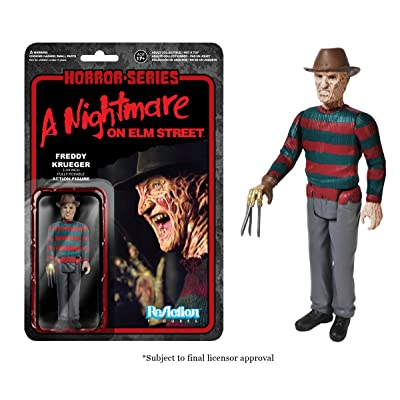 Funko Horror Classics Freddy Krueger Reaction Figure: Funko Reaction:: Toys & Games