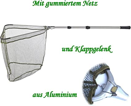 Balzer Kescherkopf mit Vollgummi-Netz