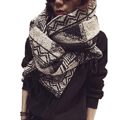 ramassé livraison gratuite date de sortie: Beatayang D'écharpe de châle Cozy Blanket pour femmes Lady