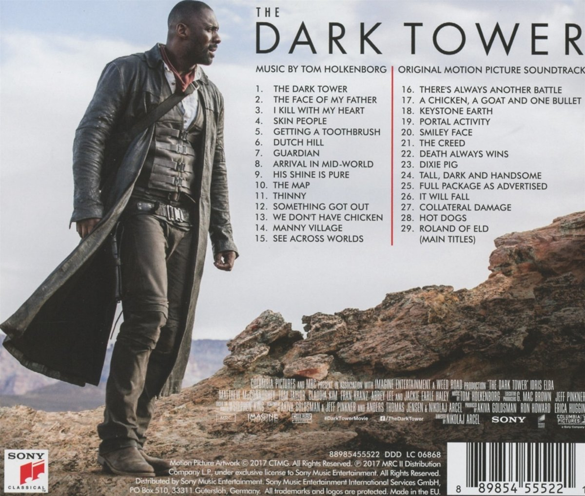The Dark Tower/Der dunkle Turm (Original Soundtrack) - Junkie XL ...