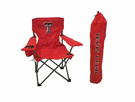 Rivalry NCAA Texas Tech Red Raiders Youth Folding Chair With Carrying Case