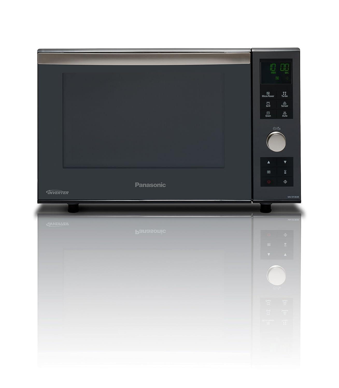 Panasonic NN-GD 462 MEPG - Microondas (1000W, 31 litros), color Plateado: Amazon.es: Hogar