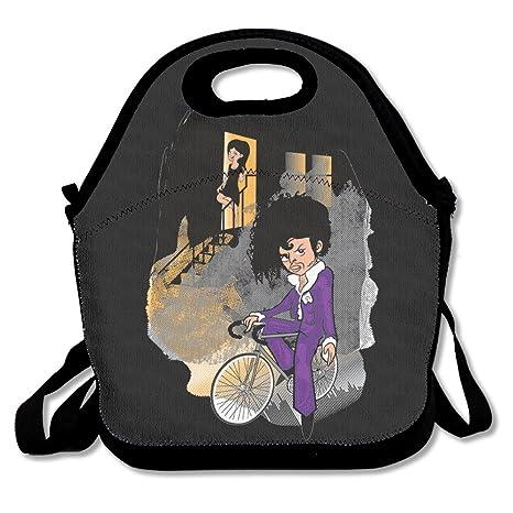 Prince desfile el artista colores – Bolsa para el almuerzo caja de almuerzo