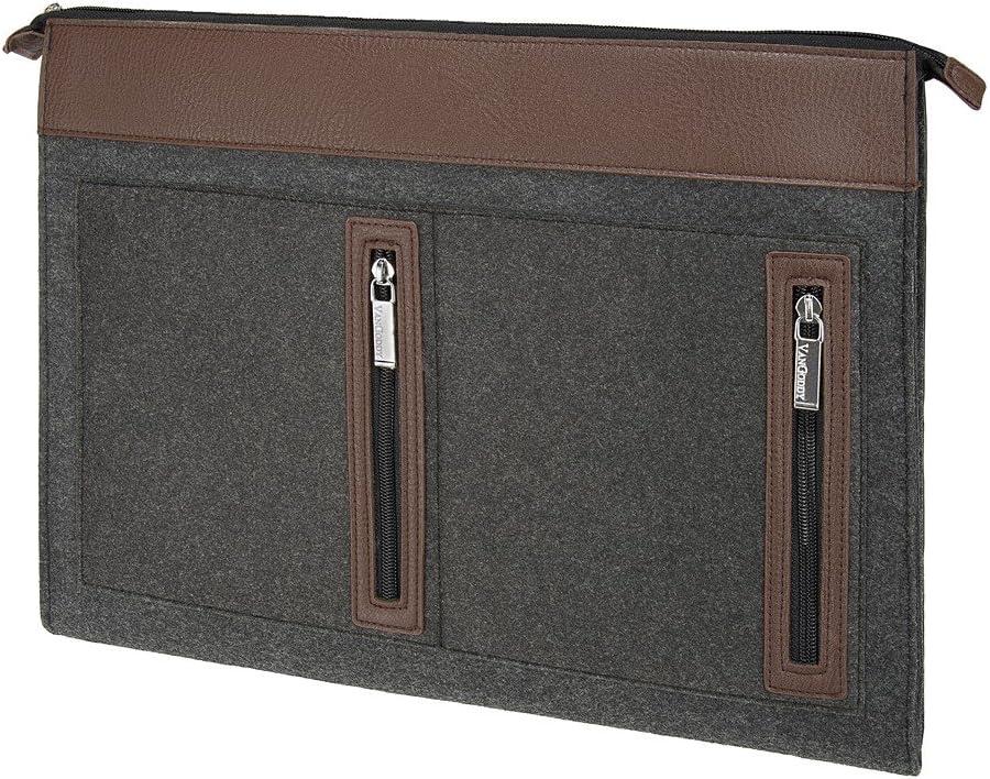 Vangoddy Lightweighted 11.6 inch 12 inch Dell Chromebook Inspiron Latitude Laptop Sleeve Woolen Felt Notebook Case