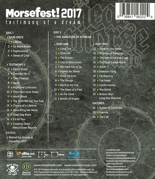 5b25f2e385 Morsefest 2017  The Testimony Of A Dream  Amazon.co.uk  DVD   Blu-ray