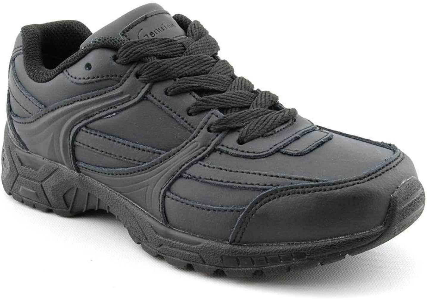Genuine Grip Women's Black Jogger Work Shoe Black