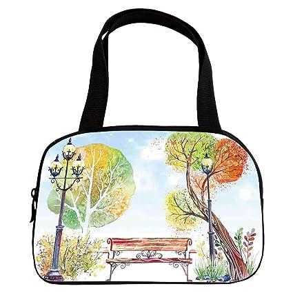 Awe Inspiring Amazon Com Increase Capacity Small Handbag Pink Lantern Squirreltailoven Fun Painted Chair Ideas Images Squirreltailovenorg