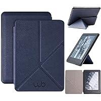 Capa Novo Kindle 10ª Geração WB® - Auto Hibernação Fecho Magnético Origami (Azul Marinho)